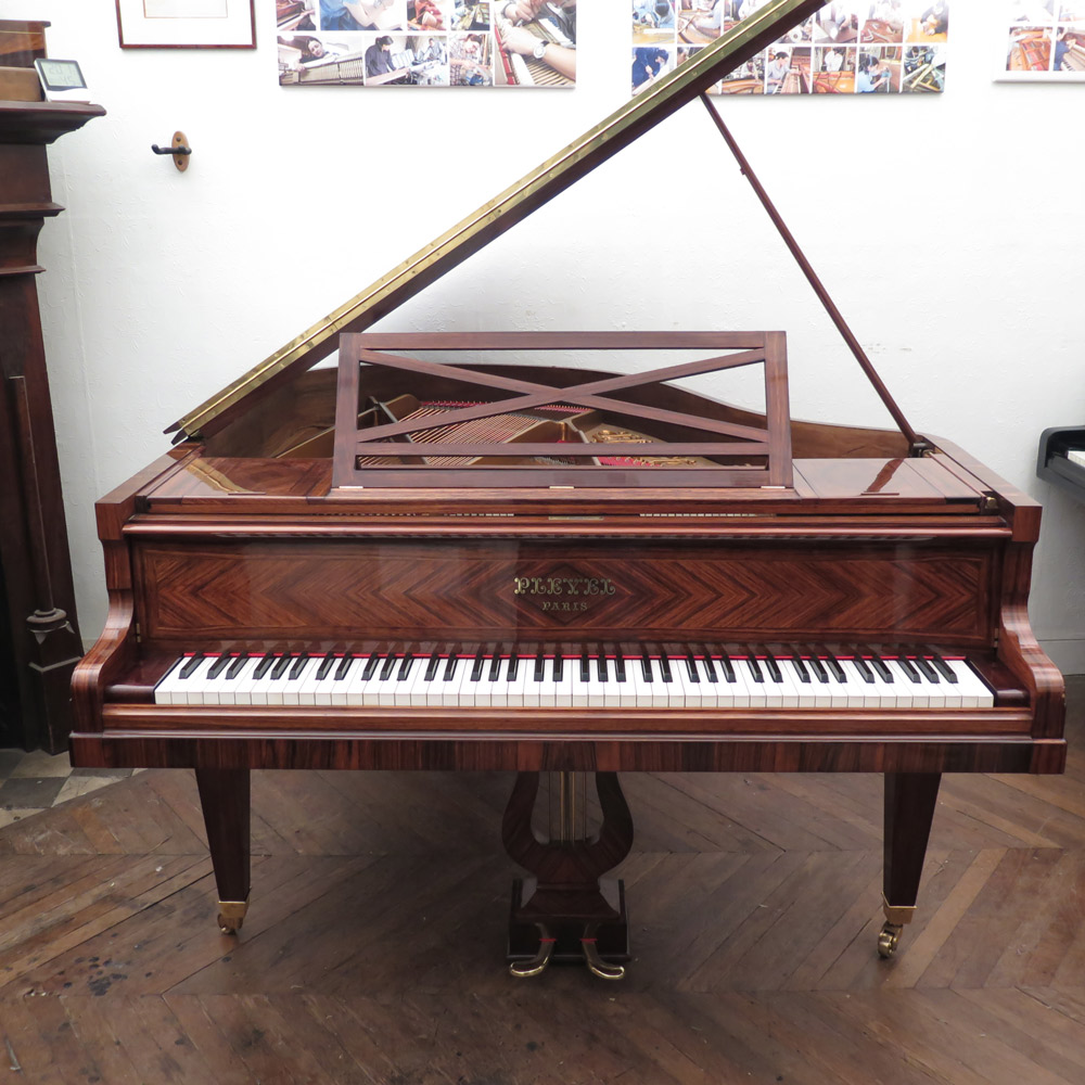 piano 1 4 queue pleyel 1927 restaur. Black Bedroom Furniture Sets. Home Design Ideas