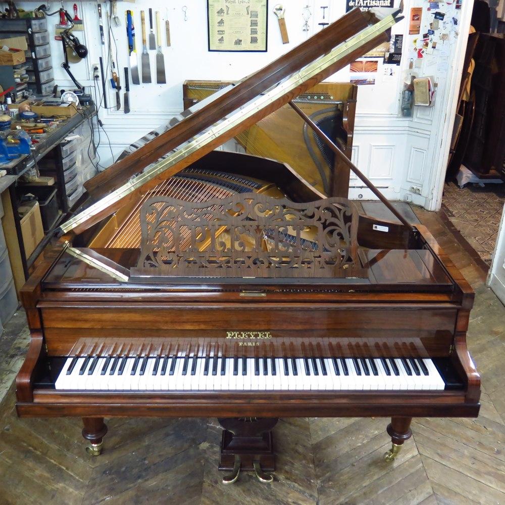 Peyel grand 2m05 fully restored Pianos Balleron Paris
